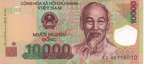 Vietnam, 2006, 10000 Dong, Polymer