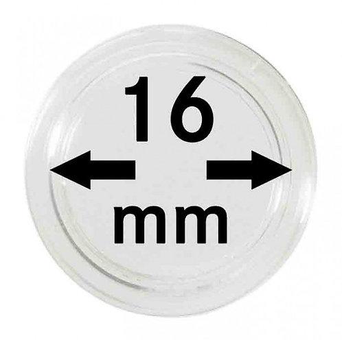COIN CAPSULES 16 MM Ø INNER DIAMETER