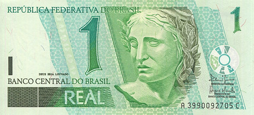 Brazil, 2003, 1 Real