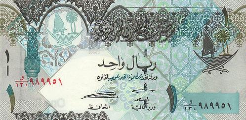 Qatar, 2008, 1 Riyal