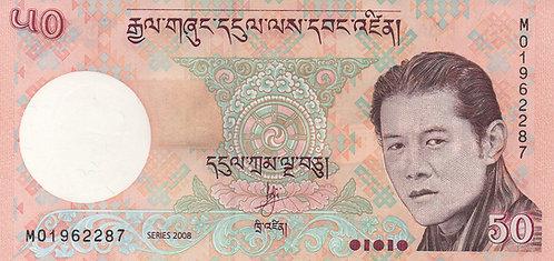 Bhutan, 2006, 50 Ngultrum