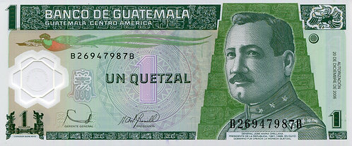 Guatemala, 2006, 1 Quetzale, Polymer