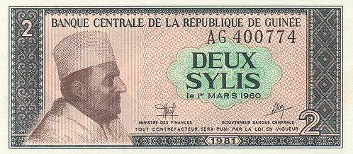 Guinea, 1981, 2 Sylis