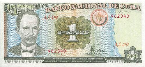 Cuba, 1995, 1 Peso