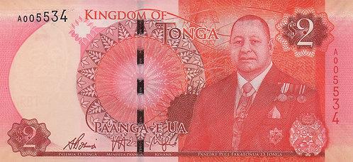 Tonga, 2015, 2 Pa'anga