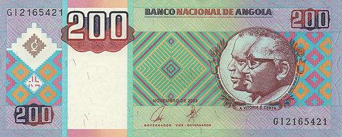 Angola, 2003, 200 Kwanzas