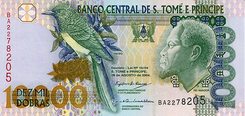 S. Thomas & Prince, 2004, 10,000 Dobras