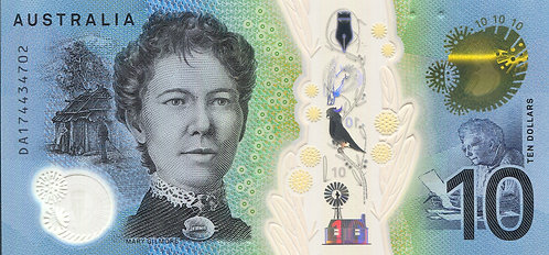 Australia, 2017, 10 Dollars, Polymer