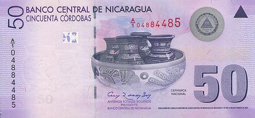 Nicaragua, 2010, 50 Cordobas