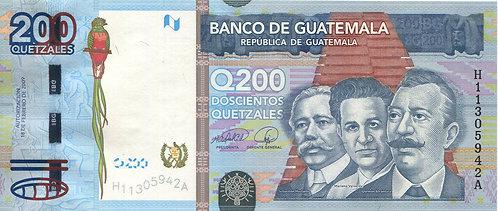Guatemala, 2010, 200 Quetzales