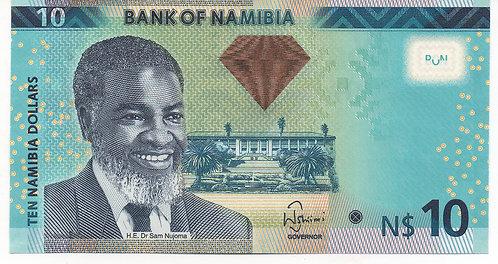 Namibia, 2012, 10 Namibia Dollars