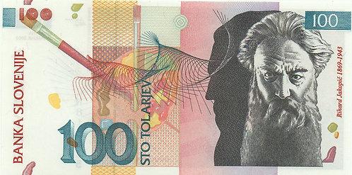 Slovenia, 2003, 100 Tolarjev
