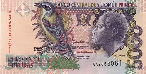 S. Thomas & Prince, 1996, 5000 Dobras