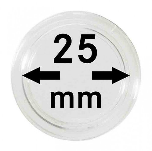 COIN CAPSULES 25 MM Ø INNER DIAMETER