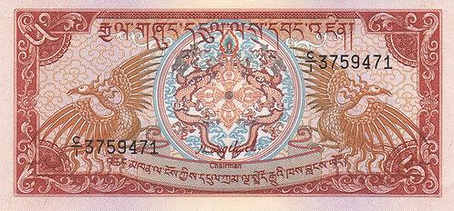 Bhutan, 1985, 5 Ngultrum