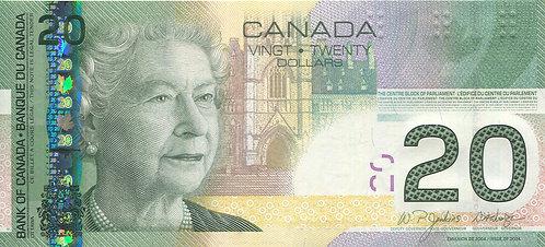 Canada, 2004, 20 Dollars