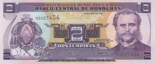 Honduras, 2003, 2 Lempira