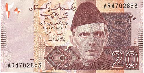 Pakistan, 2006, 20 Rupees