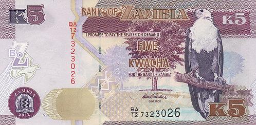 Zambia, 2013, K5 Kwacha
