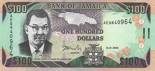 Jamaica, 2006, 100 Dollars