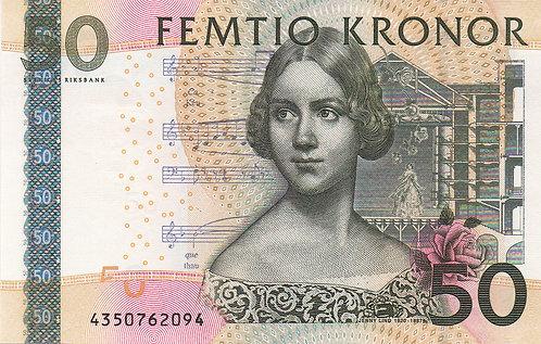 Sweden, 2004, 50 Kronor