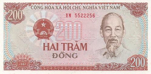 Vietnam, 1987, 200 Dong