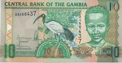 Gambia, 2006, 10 Dalasis