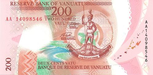 Vanuatu, 2014, 200 Vatu