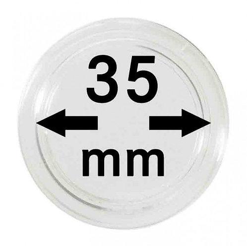 COIN CAPSULES 35 MM Ø INNER DIAMETER