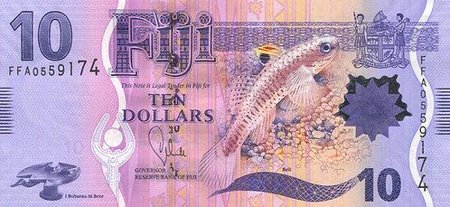 Fiji, 2013, 10 Dollars