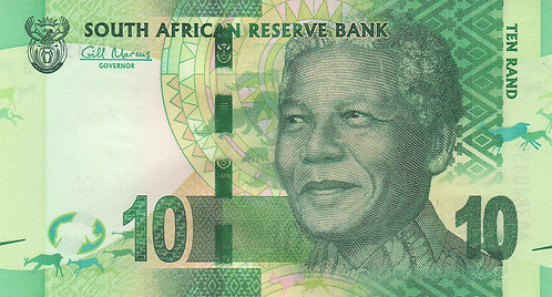 South Africa, 2013, 10 Rand