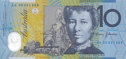 Australia, 2006,10 Dollars, Polymer