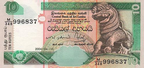 Sri Lanka, 2004, 10 Rupees