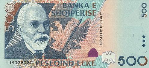 Albania, 2001, 500 Leke