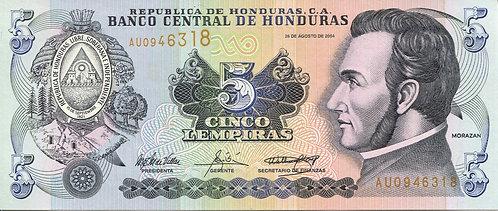 Honduras, 2004, 5 Lempiras