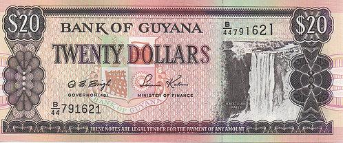 Guyana, 1996, 20 Dollars