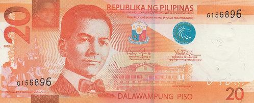 Philippines, 2010, 20 Piso