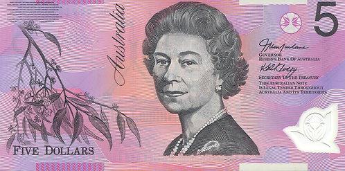 Australia, 2006, 5 Dollars, Polymer