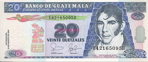 Guatemala, 2006, 20 Quetzales