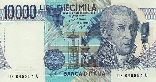 Italy, 1984, 10000 Lire