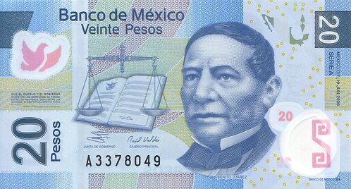 Mexico, 2006, 20 Pesos, Polymer