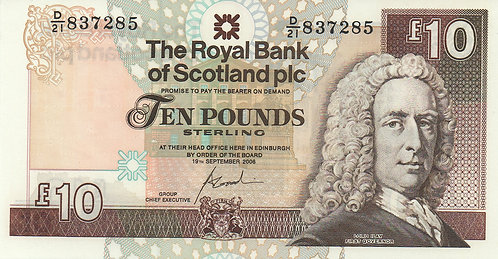 Scotland, 2006, 10 Pounds