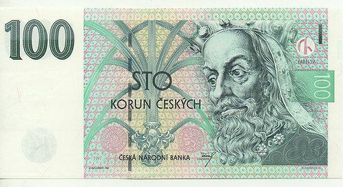 Czech Republic, 1997, 100 Korun