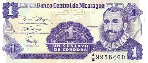 Nicaragua, 1991, 1 Centavo