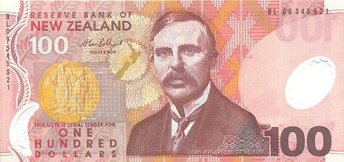 New Zealand, 2006, 100 Dollars, Polymer