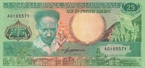 Suriname, 1988, 25 Gulden