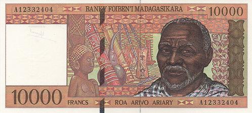 Madagascar, 1995, 10000 Francs