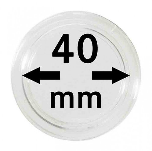 COIN CAPSULES 40 MM Ø INNER DIAMETER
