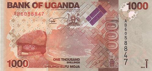 Uganda, 2010, 1000 Shillings
