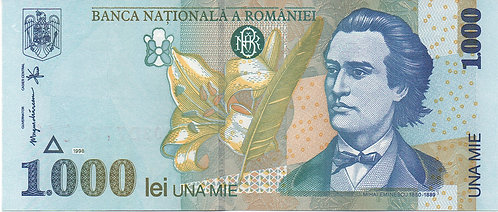 Romania, 1998, 1000 Lei